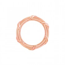 Heritage Band Ring in 18K rose gold 4 mm sizes 11 - 14