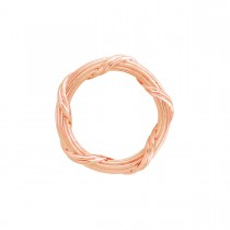 Heritage Collection Band Ring in 18K rose gold 3 mm