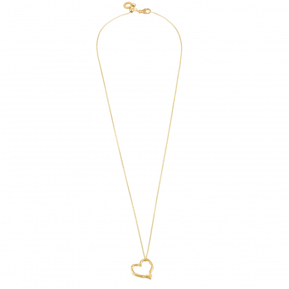 4db8f828bc64 Peter Thomas Roth Heritage Floating Heart Pendant Necklace in 18K ...