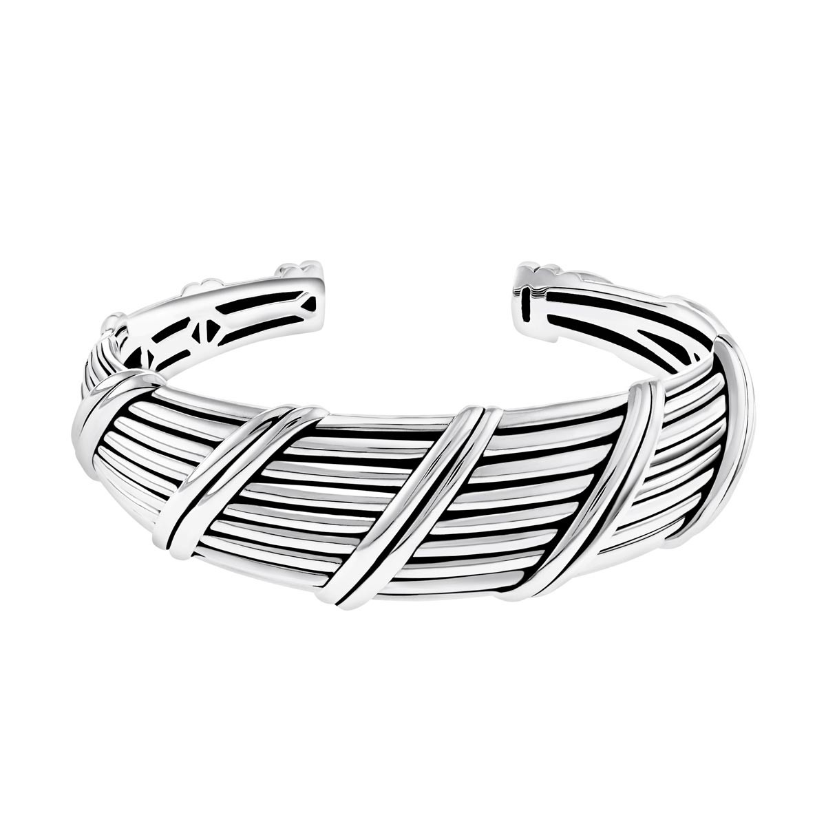 Signature Classic Tapered Cuff in sterling silver