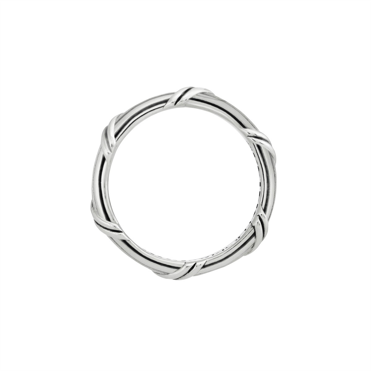 Signature Classic Band Ring in sterling silver 3 mm