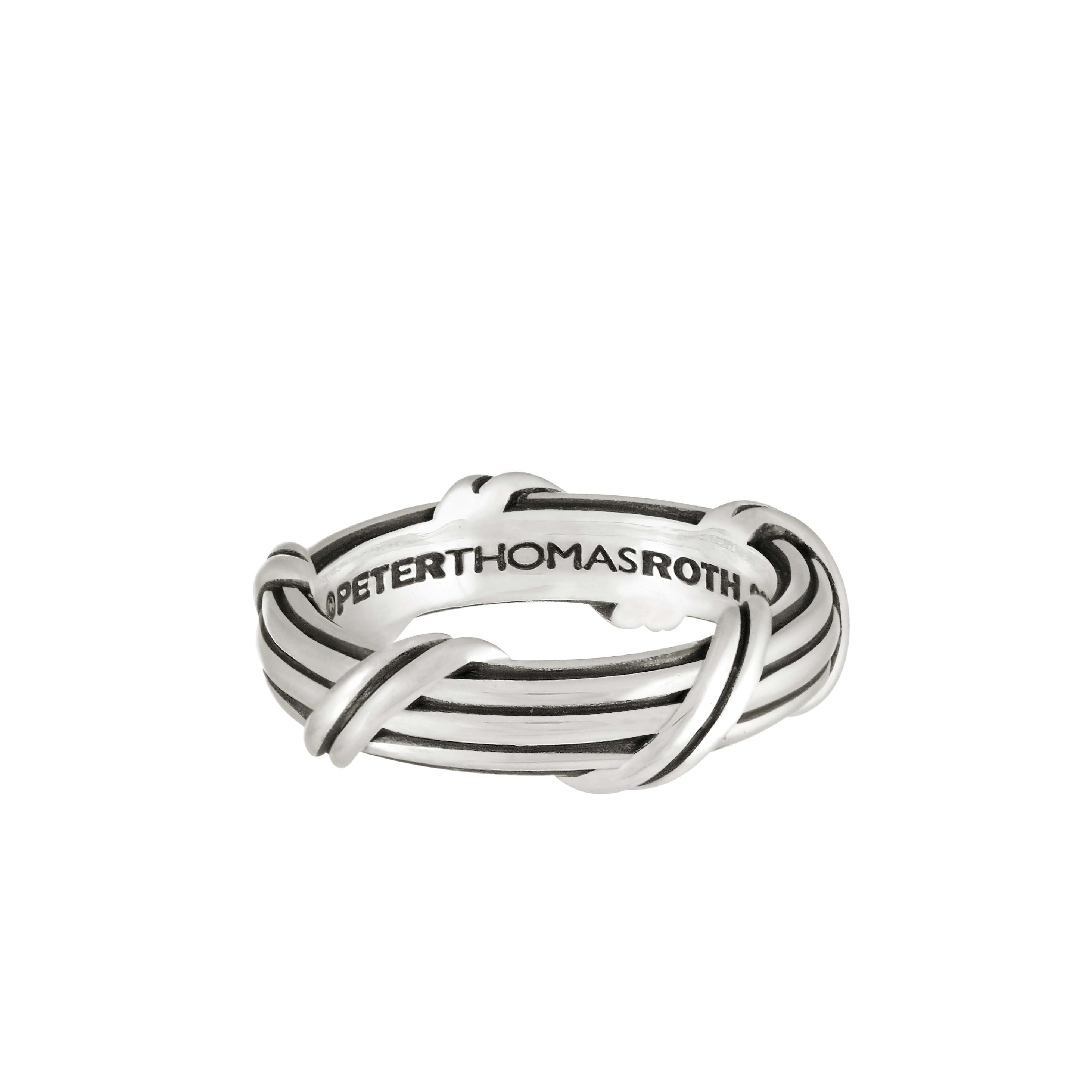 Signature Classic Band Ring in sterling silver 8 mm
