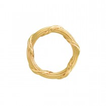 Heritage Collection Band Ring in 18K yellow gold 3 mm