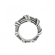 Signature Classic Dome Ring in sterling silver