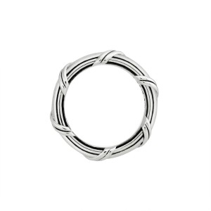 Signature Classic Band Ring in sterling silver 4 mm